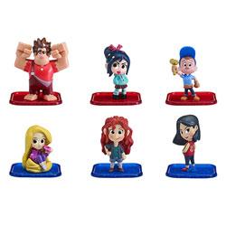 Pack 6 Figurines Le Monde de Ralph 2.0
