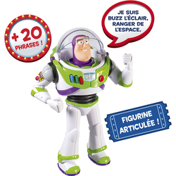 Toy Story 4-Buzz l'éclair parlant 20 phrases