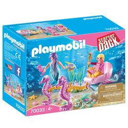 70033 - Playmobil StarterPack - Sirènes avec carrosse