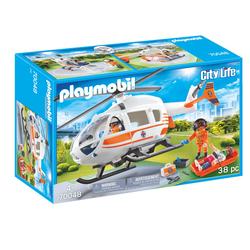 70048 - Playmobil City Life - Hélicoptère de secours