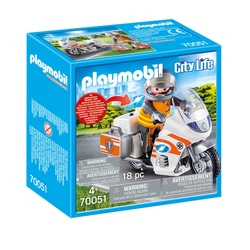 70051 - Playmobil City Life - Urgentiste et moto