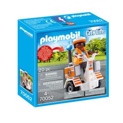 70052 - Playmobil City Life - Secouriste et gyropode