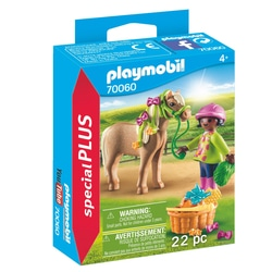 70060 - Playmobil Special Plus - Cavalière avec poney