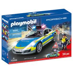 70066 - Playmobil Porsche - Porsche 911 Carrera 4S police