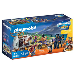 70073 - Playmobil The Movie - Charlie avec convoi de prison