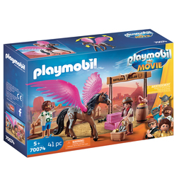 70074 - Playmobil The Movie - Marla & Del avec cheval ailé