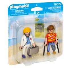 70079 - Playmobil City Life - Médecin et patient