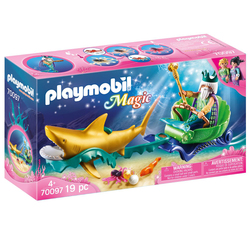 70097 - Playmobil Magic - Roi des mers
