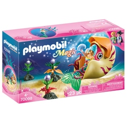 70098 - Playmobil Magic - Sirène avec escargot des mers