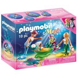 70100 - Playmobil Magic - Famille de sirènes
