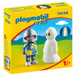 70128 - Playmobil 1.2.3 Chevalier et fantôme