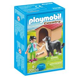 70136 - Playmobil Country - Enfant avec chien