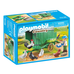 70138 - Playmobil Country - Enfant et poulailler