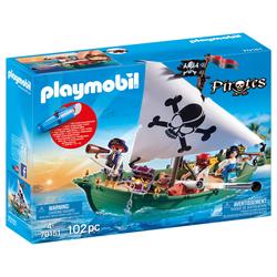 70151 - Playmobil Pirates - Chaloupe et moteur submersible