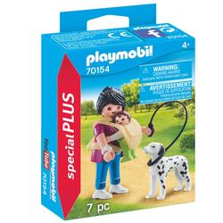 70154 - Playmobil Special Plus - Maman avec bébé et chien