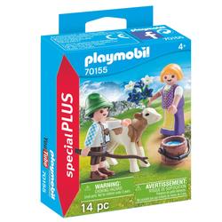 70155 - Playmobil Special Plus - Enfants avec veau