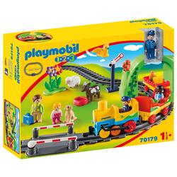 70179 - Playmobil 1.2.3 - Train avec passagers et circuit