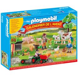 70189 - Calendrier de l'Avent Playmobil - Animaux de la ferme