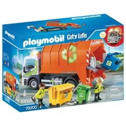 70200 - Playmobil City Life - Camion de recyclage des ordures