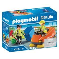 70203 - Playmobil City Life - Agents d'entretien voirie
