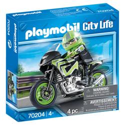 70204 - Playmobil City Life - Pilote et Moto
