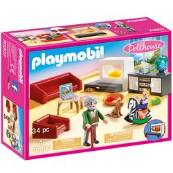70207 - Playmobil Dollhouse - Salon avec cheminée