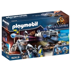 70224 - Playmobil Novelmore - Chevaliers du Loup et baliste