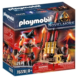70228 - Playmobil Novelmore - Maître du feu et canon