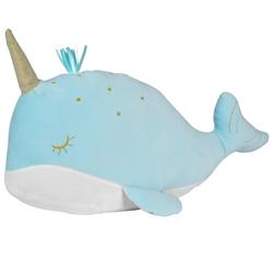Coussin baleine bleue