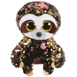 Flippables Small - Peluche sequins Dangler le paresseux 15 cm