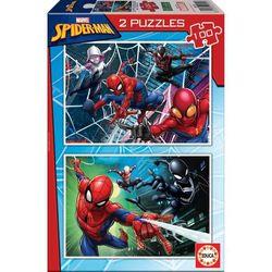 Lot de 2 puzzles 100 pièces Spider-man