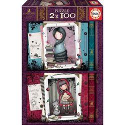Lot de 2 puzzles 100 pièces Gorjuss