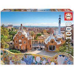 Puzzle 1000 pièces, vue de Barcelone du parc Güell