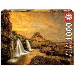 Puzzle 1000 pièces – Chute Kirkjufellsfoss, Islande – Educa®
