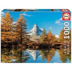 Puzzle 1000 pièces – Mont Cervin en automne