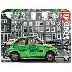 Puzzle 1000 pièces : Voiture à Amsterdam