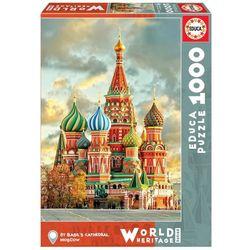 Puzzle 1000 pièces, cathédrale Saint-Basile de Moscou