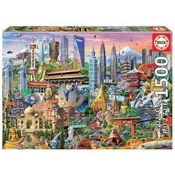 Puzzle 1500 pièces – Les Gratte-Ciels d'Asie