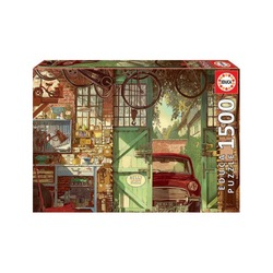 Puzzle 1500 pièces – Old Garage, Arly Jones