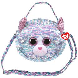 Sac à bandoulière peluche Whimsy le chat 20 cm
