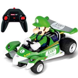 Voiture radiocommandée Mario Kart Luigi