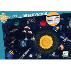 Puzzle Observation espace - 200 pièces