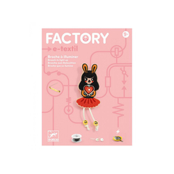 Factory broche Bunny Girl