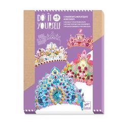 Diadèmes mosaïques à décorer comme une princesse