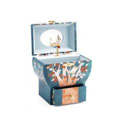 Boîte à bijoux musicale Arbre poétique