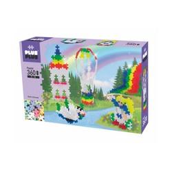 Puzzle mini pastel montgolfière 360 pièces - Plus-Plus