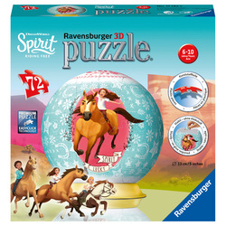 Spirit - Puzzle 3D rond 72 pièces