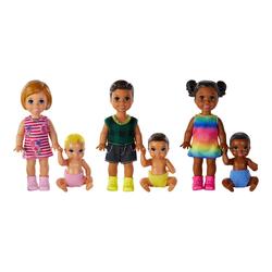 Coffret poupées Barbie frère et sœur