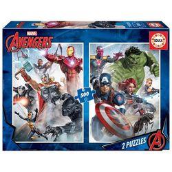Deux puzzles Marvel Avengers