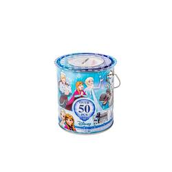Seau métal papeterie 50 pièces Disney La Reine des Neiges